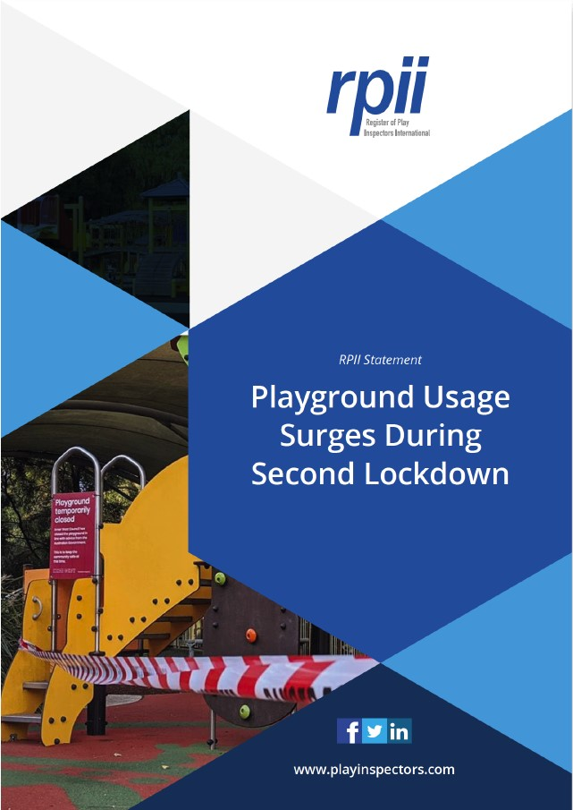 Image preview of Playground usage surges during second lockdown